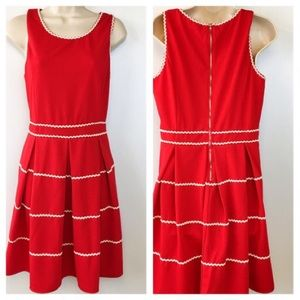 NEW Altar'd State Dress Fit Flare L Sleeveless Zip